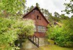 chata v zeleni